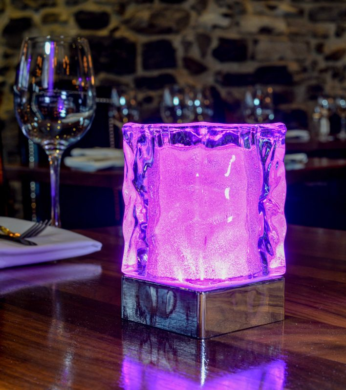 led / del hospitality table lamps