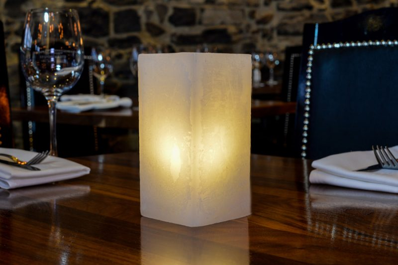 hospitality candle holder