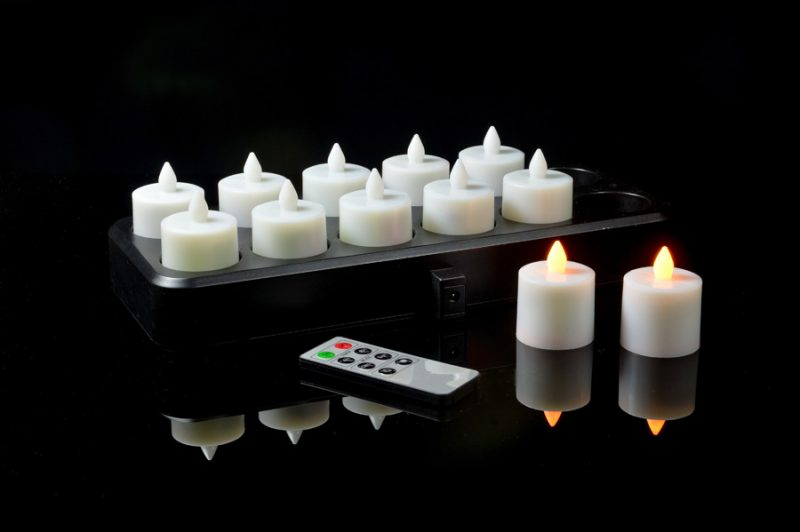led flameless rechargeable candles