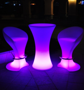 led cordless furniture bar