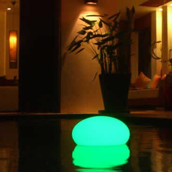FLAT BALL RECHARGEABLE LED LIGHTING