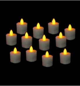 (12) REPLACEMENT CANDLES FOR SUPER ULTRA WIZELITE™