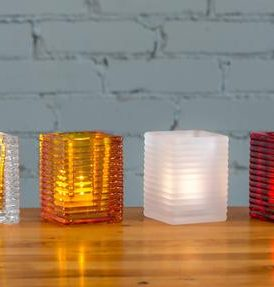 TORO CANDLE HOLDER<br>Set of 6