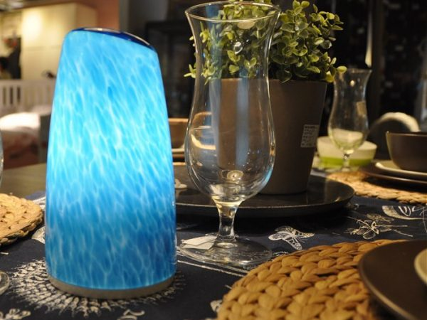 CORDLESS TABLE LAMP LED FLAMELESS