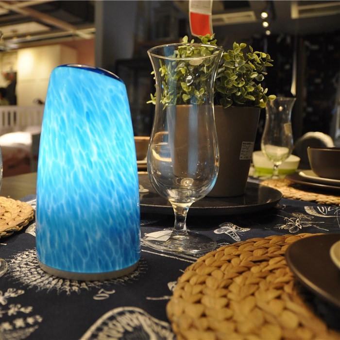 CORDLESS TABLE LAMP LED FLAMELESS