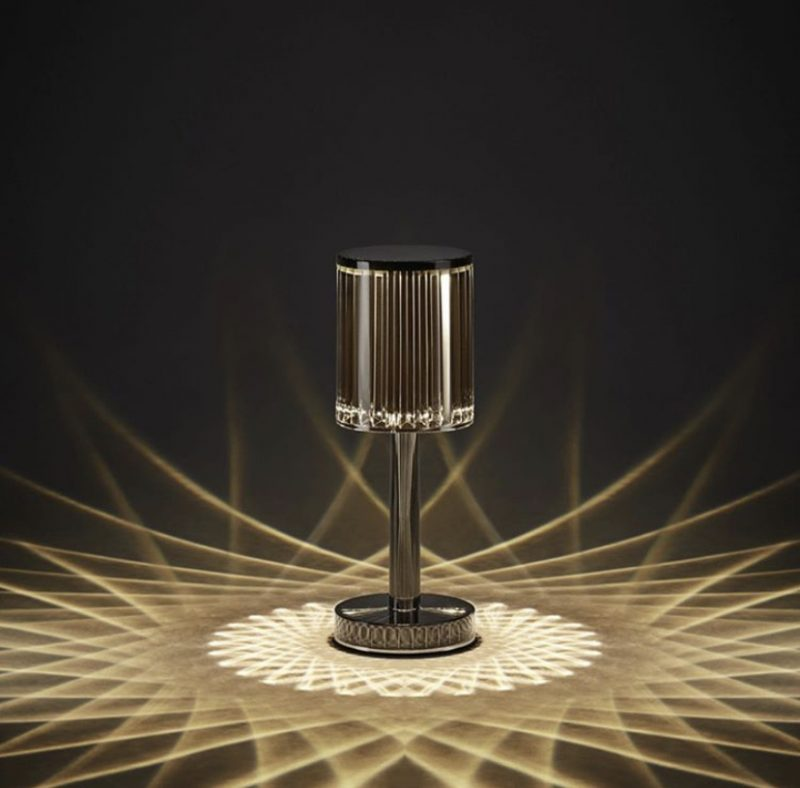 celeste cylinder rechargeable table lamp